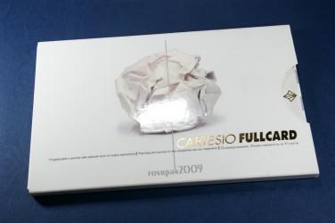Уникальная упаковка для СД или ДВД дисков, тиснение золотом, выборочный УФ лак.