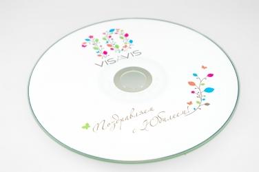 Печать на CD офсетом, тиражирование CD