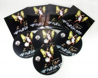 Конверты для CD дисков, дизайн и производство.