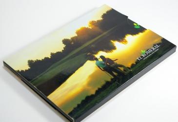 Бургопак- индивидуальная упаковка для 1 диска.