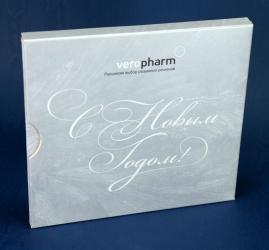 Дигипак для 1 CD диска в слипкейсе, вид на лицевую сторону.