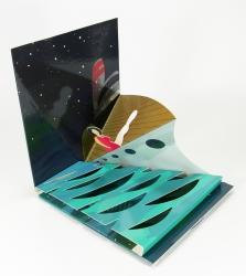 Уникальная упаковка для 1 СД диска, с объемными фигурами.