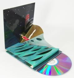 Эксклюзивная упаковка для CD диска с объемной фигурой.