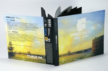 Digibook CD формата для 3х дисков, оборотная сторона.