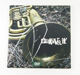 Конверт для 1 CD диска, вид на лицевую сторону.