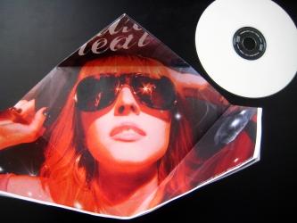 Эксклюзивная упаковка для 1 CD диска, вид на разворот.