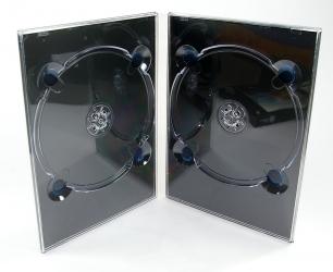 Диджипак DVD формата, 4 полосы, 2 трея