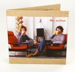 Digisleeve CD формата для 2 CD дисков, вид на лицевую сторону.