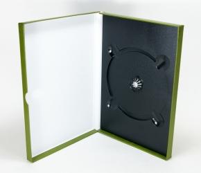 Digibox для 1 DVD диска, вид на разворот.