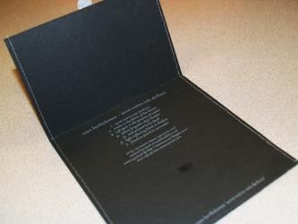 Конверт из дизайнерской бумаги для 1 CD диска.
