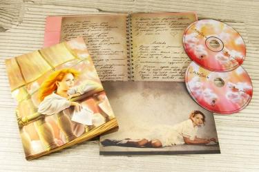 Альбом на 2 диска, слипкейс, открытка.