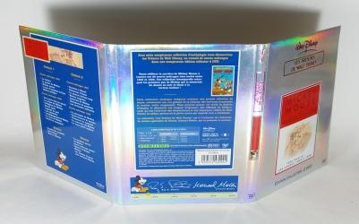 Digipack для 2 DVD дисков и брошюры, вид на обротную сторону.