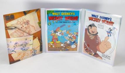 Digipak для 2 ДВД дисков, вид на разворот.