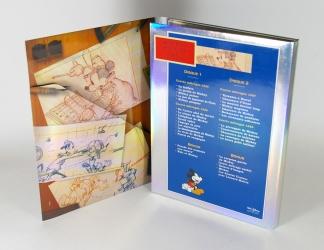 Дигипак из дизайнерского картона для 2 ДВД дисков.