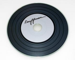 Виниловый CD, тиражирование CD, печать на CD