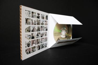 Дизайнерская упаковка для 1 СД диска.