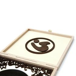 Индивидуальная упаковка из дерева для 1 DVD диска.
