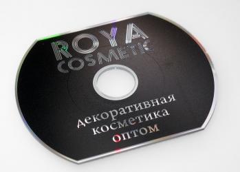 CD визитка, DVD визитка, тиражирование CD визитки