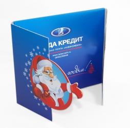 Креативный Дигипак CD формата для 1 диска