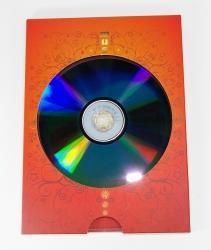 Слипкейс DVD с треем для 1го диска. Конструкция в сборе.