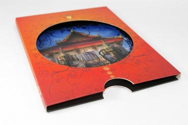 Слипкейс DVD с треем для 1го диска