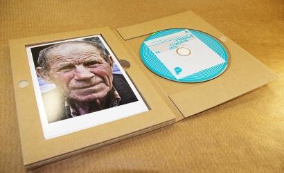 Гофропак DVD - открытки просто укладываются в ложемент