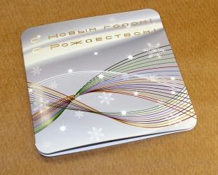 Однослойный диджипак CD со спайдером и застежкой. Конструкция в сборе