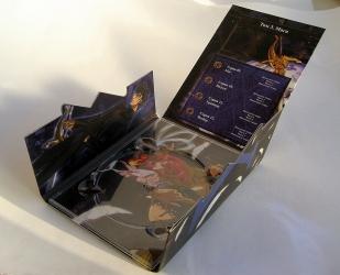 Digipack формата DVD в развороте.