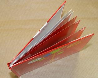 DVD диджибук альбомной ориентации, вид на корешок.