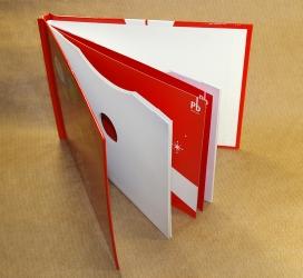 DVD диджибук  альбомной ориентации для 4х дисков.
