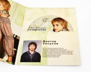Дигифайл DVD формата, крепление диска в прорезь