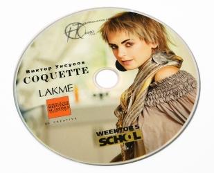 Тиражирование DVD, офсетная печать