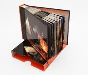 Диджибук CD формата для 10 дисков со слипкейсом