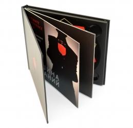 Диджибук CD с черным треем и буклетом