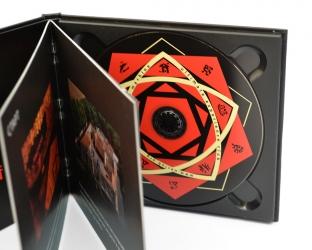 Дигибук с треем - крепление диска в черный трей