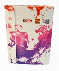 Frog-pack DVD для 1 диска. Коробка в собранном виде. Оборотная сторона, замок.