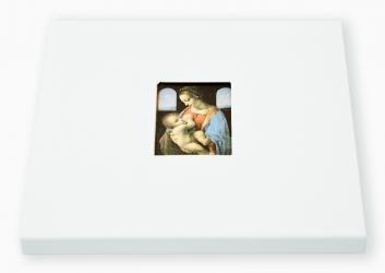 Диджипак CD формата, конструкция крест. Собранный вид, рукав с вырубкой.