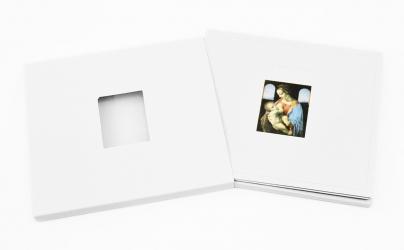 Дигипак CD формата, конструкция крест + рукав