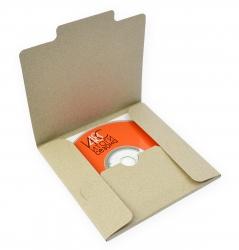 Упаковка из дизайнерской бумаги для диска и буклета