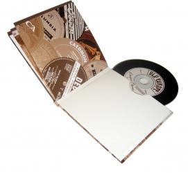 Digibook на 1 диск, вид на разворот.