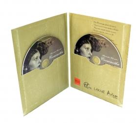Упаковка диджифайл DVD формата для 2х дисков