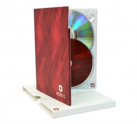 Диджипак DVD формата для диска и буклета