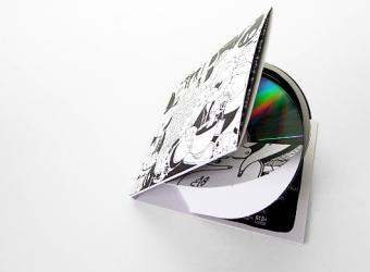 Креативная упаковка для 2х дисков и буклета