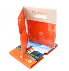Упаковка для диска, электронного ключа (флешки) и буклета