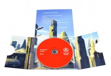 Диджипак CD формата креативный
