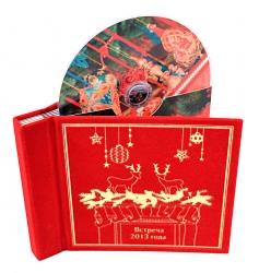 Дигибук CD формата для 5ти дисков, бархатный