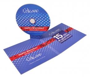 Креативная упаковка для диска StandUp pack