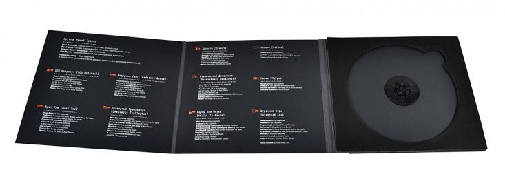 Deluxe упаковка для диска