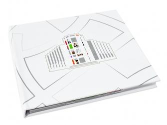 Хардбэк CD формата на 1 диск с треем и брошюрой