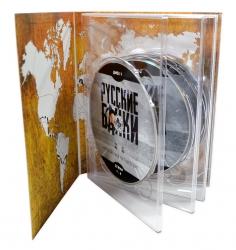 Диджистек со слипкейсом для 5-ти дисков